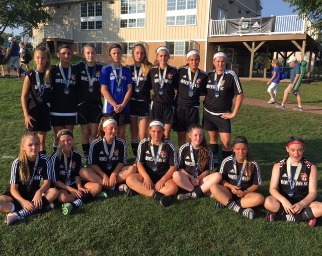'03 Girls United - Finalists at Battle at Hilltop!