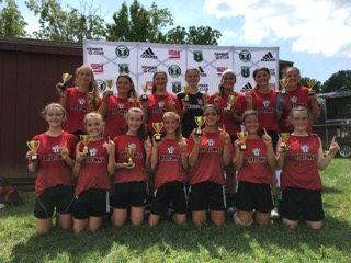 '03 Girls United Champions of the Montgomery United Wings Cup