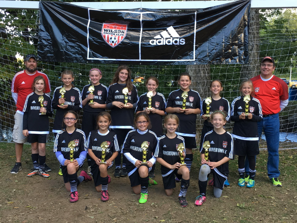 U12 Girls United - Runner-up at the Wilson Fall Classic