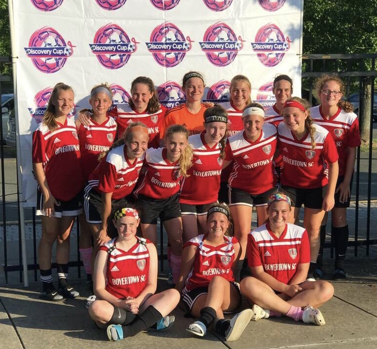 U16 United Lionesses - Runners Up at the Discovery Cup!